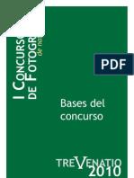 Bases Concurso Fotografía TREVENATIO Castellano