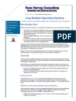 Running Multiple Operating Systems — Dual Booting, Partitions & File Systems