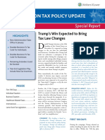 2016 Post Election Tax Policy Update