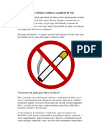 Ajuda Para Deixar de Fumar e Melhorar a Qualidade de Vida