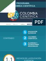 Colombiacientifica Presentacion Programa
