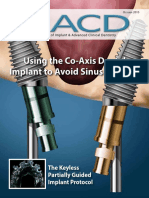 Oct15 - Co Axis Implantto Avoid Sinus Grafting