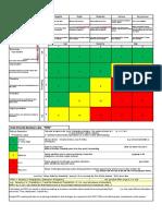FMECA Risk Matrix & RPN Table Cw RI Methodology.