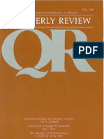 Fall 1981 Quarterly Review - Theological Resources for Ministry