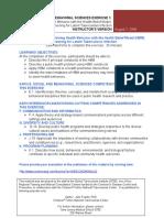 SBS Exercise 1 Health Belief Model Instructors Version 08.03.09