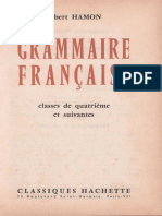 Hamon Grammaire 4e 3e