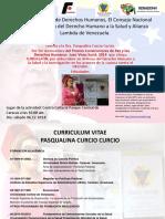 Curriculum de Pascualina Curcio