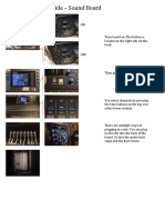 quick reference guide sound board