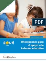 Orientaciones Para El Apoyo a La Inclusion Educativa