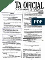 Gaceta Oficial No 39.447 Ley Org Sist Financiero, Ley Orgánica Jurisdicción Contencioso Administrativo, SUDEBAN