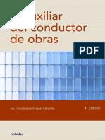 INCOMPLETO -Googlebooks- El Auxiliar Del Conductor de Obras (Ing. Carlos Eudoro Vázquez Cabanillas)