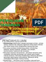 9. Peran Bioteknologi Pada Pemuliaan