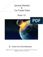 Spiritual Warfare the Purple Robe Book 15