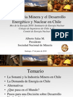 alberto Salas - Planteamientos de la industria minera en relación al desarrollo energético y nuclear en Chile.