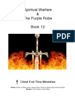 Spiritual Warfare the Purple Robe Book 12