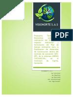 Propuesta Tecnico-economica Visionorte, Eia