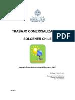 Trabajo Comercializacion II - Estudio Economico y Financiero - Solgener Chile