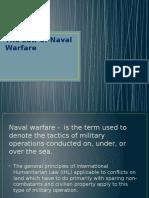 The Law of Naval Warfare