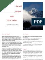 Nepal Prep Guide