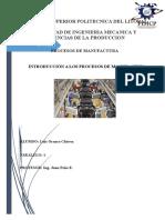 Luis Orozco Introduccion a Los Procesos de Manufactura