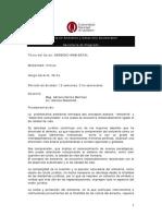 Programa Derecho Ambiental 2016