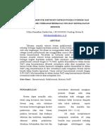 Toleransi Osmotik Eritrosit Hewan Poikilotermik Dan Homoiotermik Terhadap Berbagai Tingkat Kepekatatan Medium
