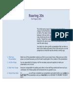 roaring 20s direction sheet