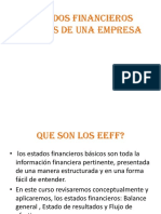 Estados Financieros Ge II