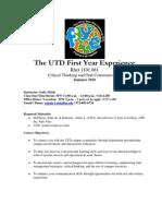 UT Dallas Syllabus for rhet1101.081.10u taught by Sally Zirkle (szirkle)