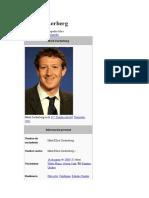 Reseña Historia Facebook