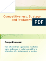 32433119 Competitiveness Strategy and Productivity
