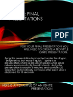 20 time final presentation