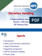 #3 ISPE Deviation Handling