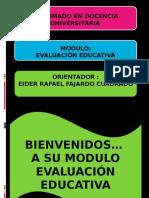 Presentación Evaluación Educativa.