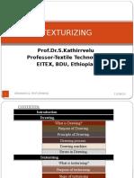 Texturizing