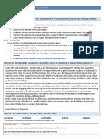 languay daniel professional competency self evaluation sheets