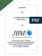 Jbma Mba Project