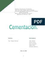 cementacion...PERFORACIÓN 1