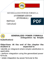 Lesson 2 Generalized Power Formulas