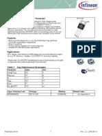 Infineon Ipp50r500ce Ds v02 03 En