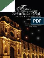 6 Festival Internacional de Narración Oral, Zacatecas 2010