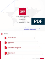 Dishwasher Fire Investigation