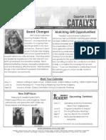 raf newsletter 2016