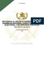 Dt16-26 - Rf ley electoral y partidos politicos.
