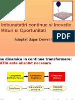 Curs 8-9 Imbunatatiri continue si Inovatie  .pptx