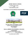 MREC MR13 BTech EEE Syllabus Book
