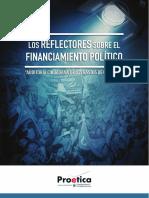 Reflectores Financiamiento Político - Estudio de Proética