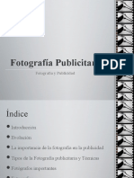 Fotografia Publicitaria ppt