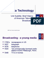 history of tv power point