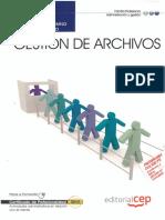 Gestión de Archivos - Cuaderno Del Alumno Modulo Formativo [EDITORIAL CEP]